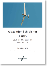 ASK13tailplanecover